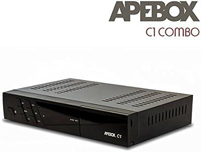 APEBOX C1, Receptor H.265 HEVC DVB-S2 + DVBT2/C FULL HD con LAN y WIFI.