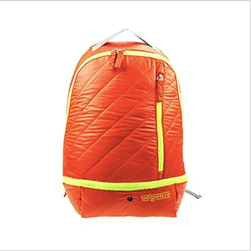 Xiuxiandianju Zaino 20L-35 all'aperto sport alpinismo borsa zaino luce e luce per il tempo libero uomini e donne , blue Orange