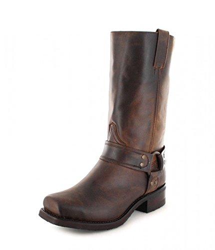 Sendra Boots Stiefel 9809 Braun Bikerstiefel mit Thinsulate Insulation -