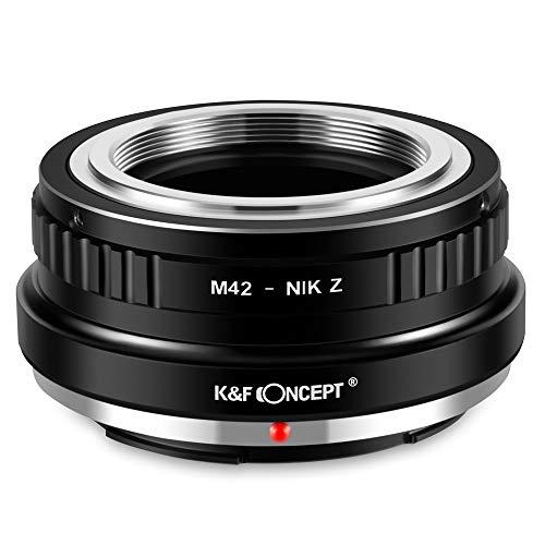 K&f concept anello adattatore per obiettivo m42 a fotocamera di nikon z mount z6 z7 mirrorless camera m42- nikon z