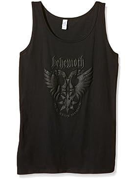 Behemoth - Eagle Logo (puff Print) Ladies Tank Vest (Abito Donna Tg. XL) [Italia]