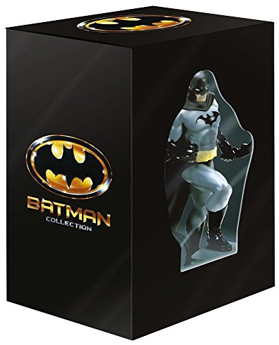 Batman Collection + Action Figure (Edizione Limitata) ( 4 Blu-Ray + 4 DVD)