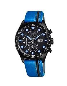 Reloj Lotus Hombre 18593/2 Chrono Piel Azul