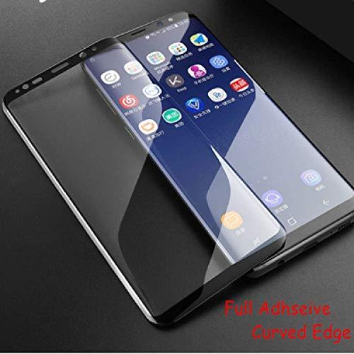 HOWEHORC 3pcs Vollkleber gebogenes ausgeglichenes Glas, für Samsung-Galaxie S8 gebogener Schirm-Schutz-Telefon-Film 3D, für Samsung-Galaxie S8 Glas G9500 (Schirm Für Telefon)
