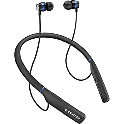 [Inalámbrico] Sennheiser CX 7.00 BT - Auricular intraural inalámbrico, color negro y azul