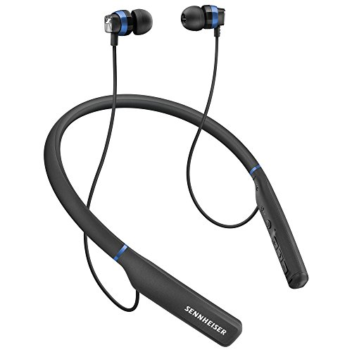 Sennheiser CX 7.00 BT In-Ear-Wireless-Kopfhörer, schwarz/blau thumbnail