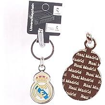Llavero Oficial Real Madrid, Escudo (pvc-acero)