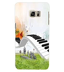 ColourCraft Creative Image Design Back Case Cover for SAMSUNG GALAXY S6 EDGE PLUS