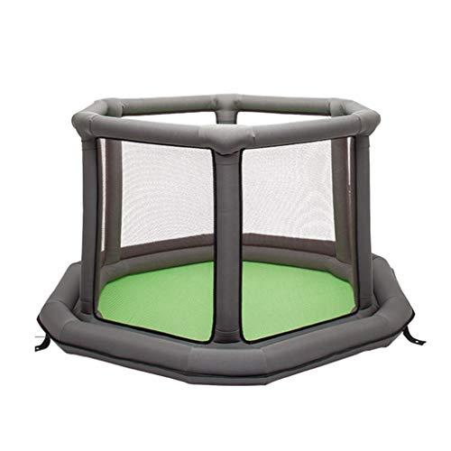 Parc pour enfants parc pour enfants La barrière des enfants barrière gonflable de jeu barrière de sécurité intérieure barrière se pliante aire de jeu pour enfants pilier d'air de 75cm, conception hexa