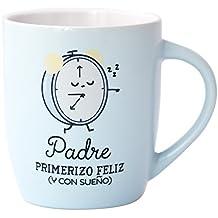 Taza Padre Primerizo Feliz (Y Con Sueño)