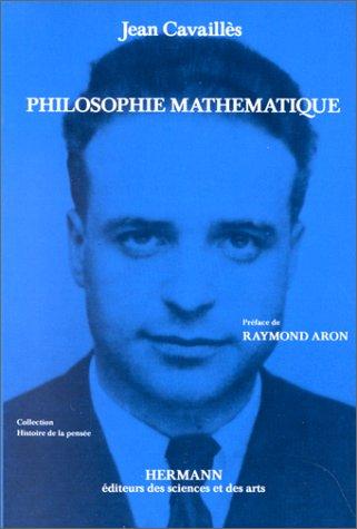 Philosophie mathématique. Troisième cycle et recherche