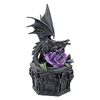 Nemesis Now Dragon Beauty Anne Stokes Box 25cm Black, Resin, One Size
