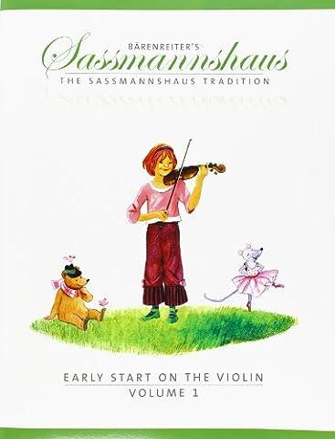Early start on the violin Volume 1 (Vers.Ang.du BA9671) - Vl