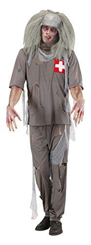 WIDMANN Zombie Doctor Kostüm groß für Halloween Living Dead ()