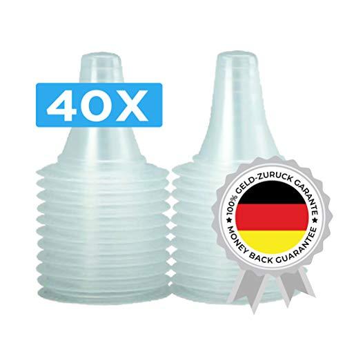 40 Ersatzschutzkappen für alle Braun Thermoscan Ohrthermometer | Ohr Fieberthermometer | Ohrenthermometer