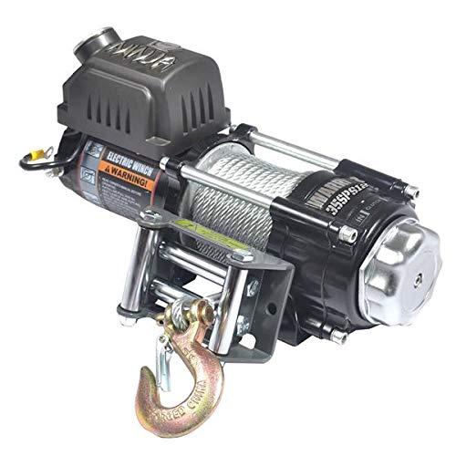 (Warrior WW35SPS12 ATV/UTV Quad Elektrische Seilwinde Ninja 3500LB 1,6 t 12 V)