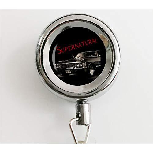 asd Supernatural Impala Supernatural Road so far Dean Winchester Auto Sam Ausweishalter mit Wasserdichten Ausweishaltern und Schlüsselanhänger