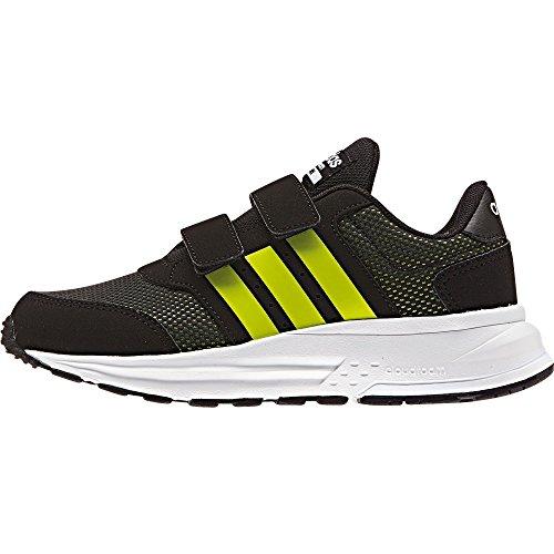 adidas-bambino-cloudfoam-saturn-cmf-c-scarpe-sportive-nero-size-30