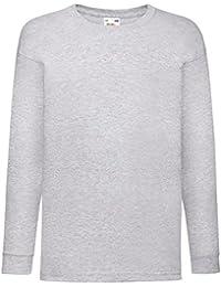 834cb3b964d Integriti Schoolwear Kids Plain Basic Top Long Sleeve Girls Boys Uniform T- Shirt Tops 3