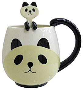 Mcm Panda Fancy Mug Cup Set With Spoon