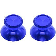 MMRM 2pcs Tapa aleación de aluminio de la seta sombrero del palillo por PS4 Xbox One Controlador-azul