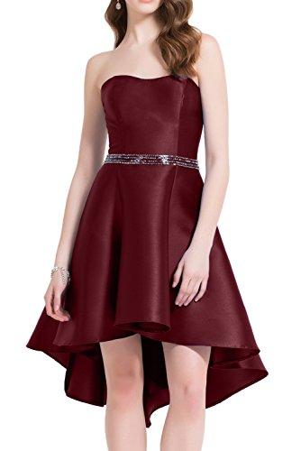 Missdressy -  Vestito  - linea ad a - Donna rosso vivo
