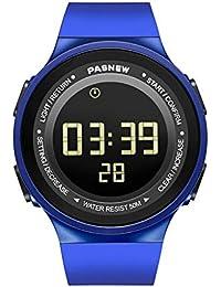 32467806f2ce TD Relojes Deportivos Reloj Digital Natación Multifuncional para Correr  Impermeable. Reloj De Pulsera Ligero Y