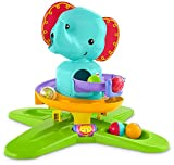 Mattel- Fisher-Price-Elefantito rampas Divertidas, Juguete de Actividades bebés +9 Meses DGT87