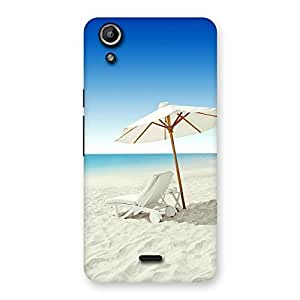 Stylish Vaccation Multicolor Back Case Cover for Micromax Canvas Selfie Lens Q345