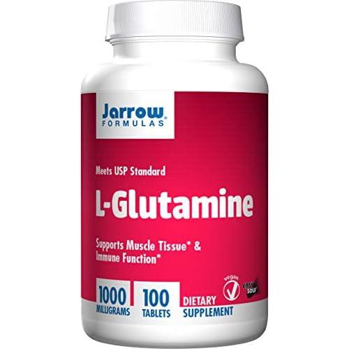Jarrow Formulas L-Glutamine Powder 100 Tablets