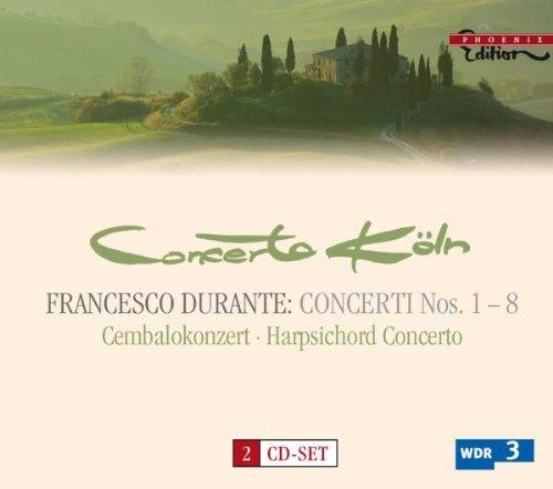 Francesco Durante:_ Concerti 1-8, Cembalokonzert