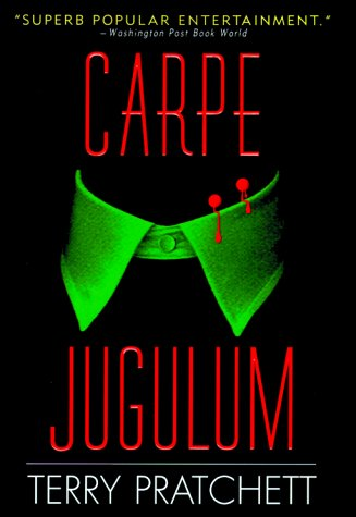 Book cover for Carpe Jugulum