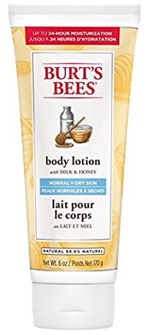 Burt's Bees Milk and Honey Body Lotion, 170g [Packaging may vary]