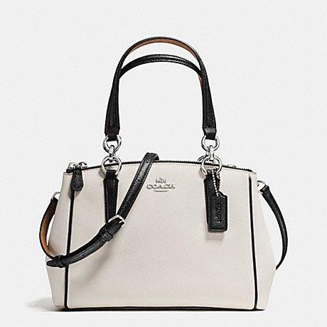coach-mini-christie-carryall-with-contrast-trim-in-crossgrain-leather-coach-f57487-beige-chalk-multi