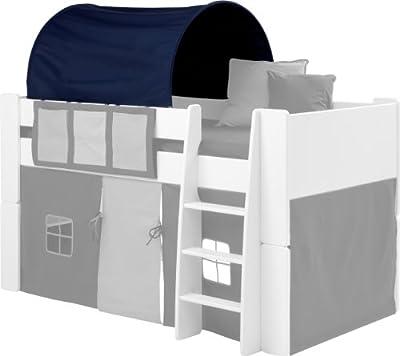 Steens 290624274 Kids Tunnel for Mid Sleeper Bed, Dark/Light Blue