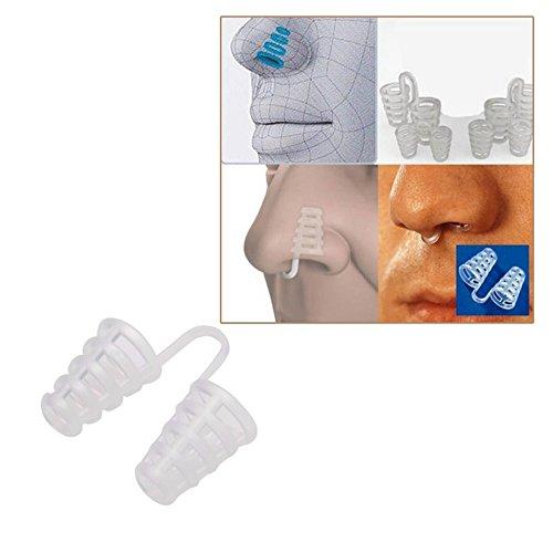 GaDa Nasenspreizer gegen Schnarchen und bei Ausdauersport - sehr komfortabler Schnarchstopper, die angenehme Alternative zu Schnarchmasken, Nasenpflastern, Nasenspray, Schnarchschienen, Nasenklammern oder Schnarch-Mundstücken und Anti-Schnarchringen ohne Magnete