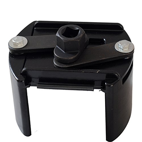 Universal Ölfilterschlüssel Ölfilter Kappe Ölfilterkappen Schlüssel KFZ Werkzeug 60-80MM 80-105MM, Größe:80-105