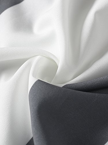 Simplee Apparel le donne sanno la striscia in alto e ginocchio minigonna 2 pezzo vestito Stripe
