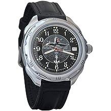Vostok Komandirskie Submarine 2415 211831 Ruso Militar reloj mecánico