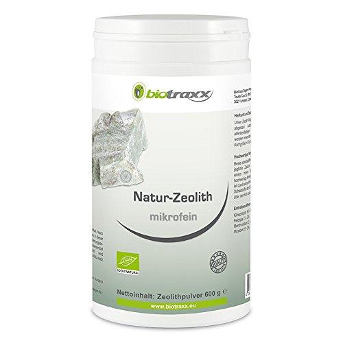Biotraxx Zéolite Naturelle - Silicium Argile Micro Fine