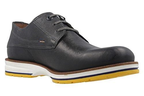 FRETZ MEN - Herren Halbschuhe - Steven - Braun Schuhe in Übergrößen Blau