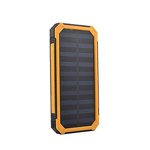 Características: Totalmente nuevo y de alta calidad y elegante, portátil, fácil de usar y duradera para desplazamientos. alta capacidad, solar, respetuoso con el medio ambiente cargador de emergencia para teléfono móvil y otros dispositivos compatibl...