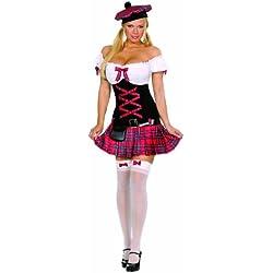 Cesar - Disfraz de escoces sexy para mujer, talla L (5083L)