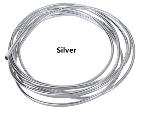 SPA Silver : 4M Car styling Outlet decorative line For Mitsubishi ASX Outlander Lancer EX Pajero for LEXUS is200 is300 ls400 IS250 LX570