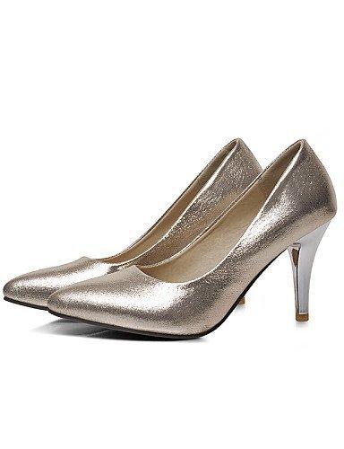ShangYi Schuh Damenschuhe - High Heels - Hochzeit / Outddor / Kleid / Lässig - Kunstleder - Konischer Absatz - Komfort / Spitzschuh -Blau / Rot / Blue