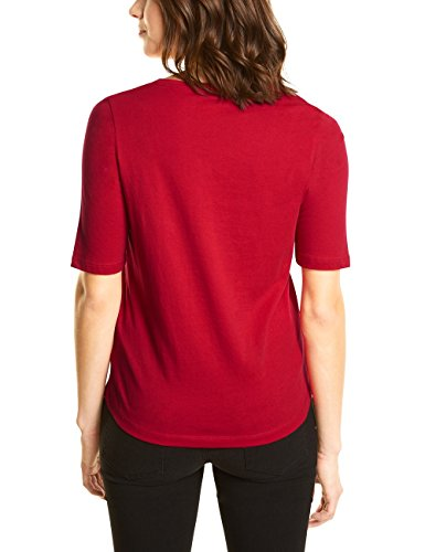 Street One, T-Shirt Donna Rot (Scarlet Red 31157)