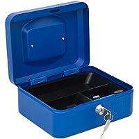 Arregui C9225 Caja de Caudales con Bandeja, Azul, 200 x 90 x 160 mm