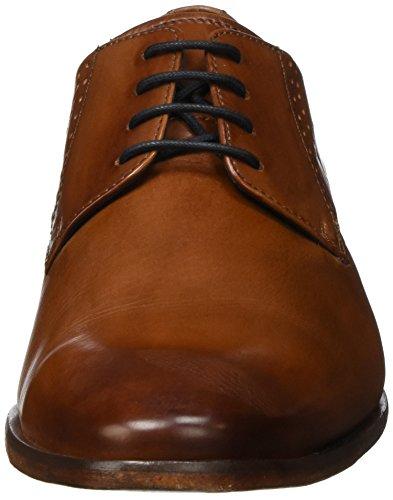 Daniel Hechter 811219011100, Derby homme Marron - Braun (Cognac 6300)
