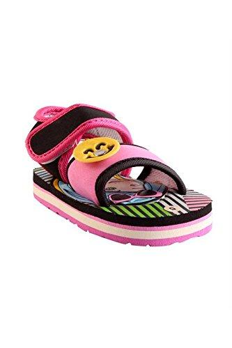 CHiU Chu-Chu Girl Printed Pink Sandal For 6-12 Months