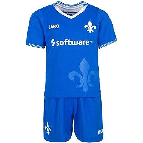 Jako SV Darmstadt 98Minikit Home 2015/2016Niños, color azul / blanco, tamaño 4 años (104 cm)